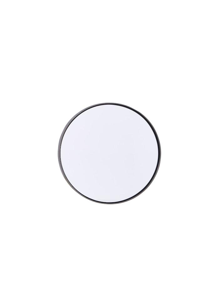 Spegel Reflection Ø 30 cm Järn/svart