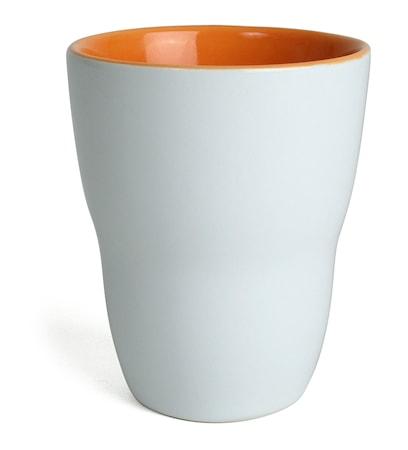 Mugg Venus vit/orange