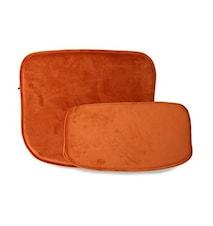 Kuddar för Wire stol Sammet Orange
