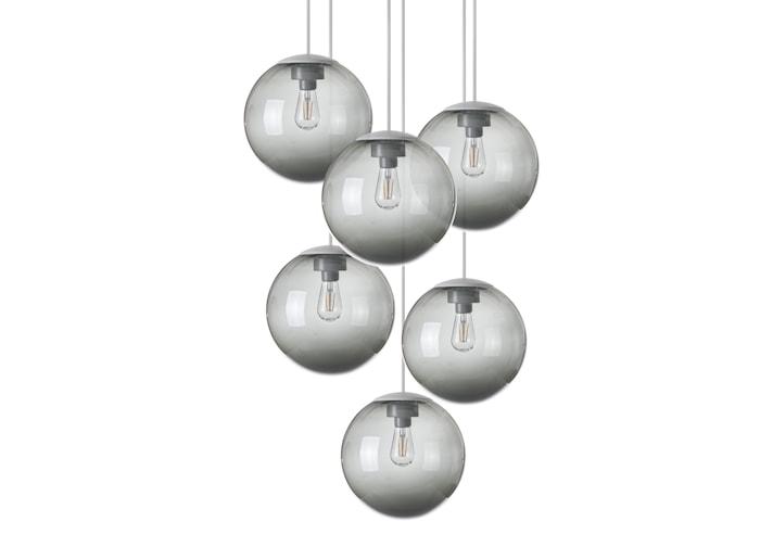 Fatboy® Spheremaker Taklampe 6 Mørkegrå