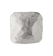 Dana Knop 2.5x2.5 cm - Sølv