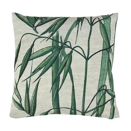 Pute Mønster Bambus 45x45 cm