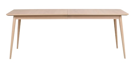 Dawsone Matbord Vitpigmenterad ek 200x90 cm
