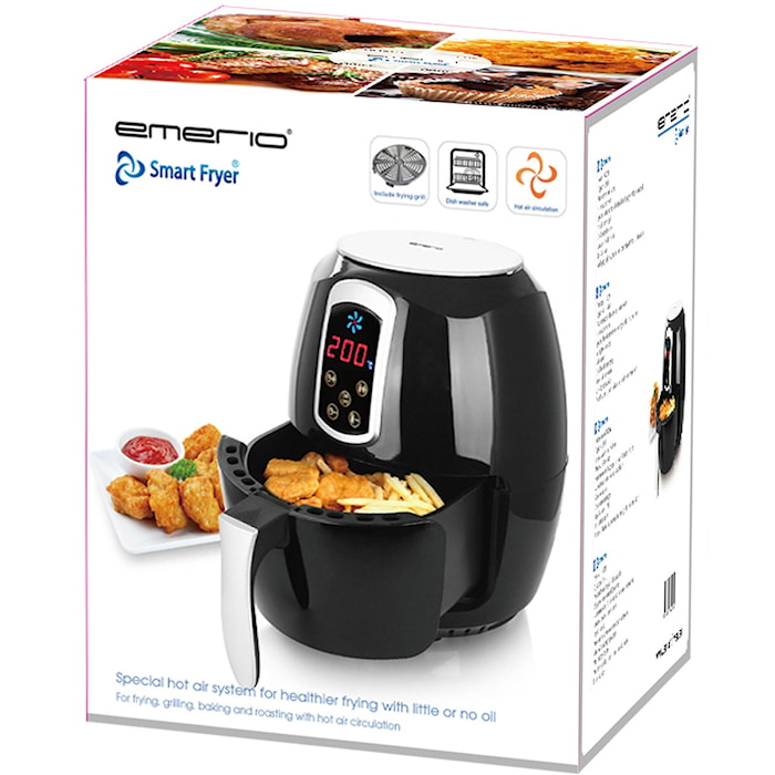 Frityrkoker SmartFryer 3,6L Digital