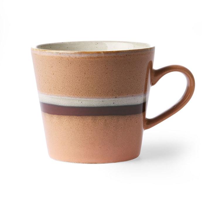 Ceramic 70's Cappuccino Mugg Stream