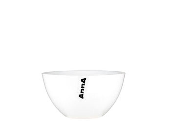 Müsliskål Anna Ø13 cm hvid porcelæn