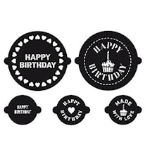 CAKE A CUPCAKE Stenciler Birthday