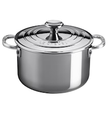 3Ply Stockpot with lid 3.8 L