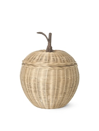 Braided Storage - Small Apple - Natural