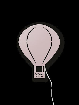 Air Balloon Lamp - Rose