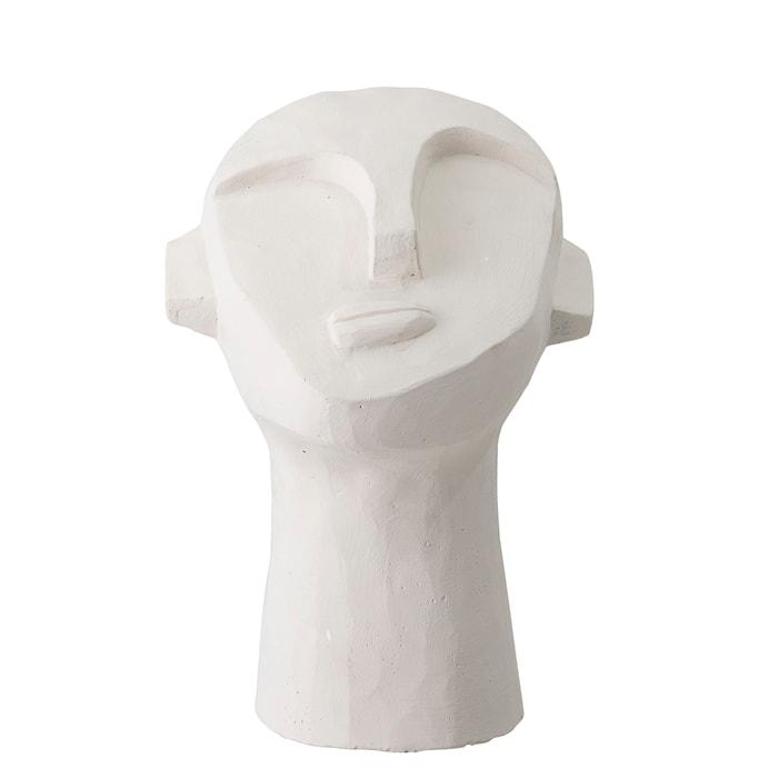 Skulptur Vit Cement