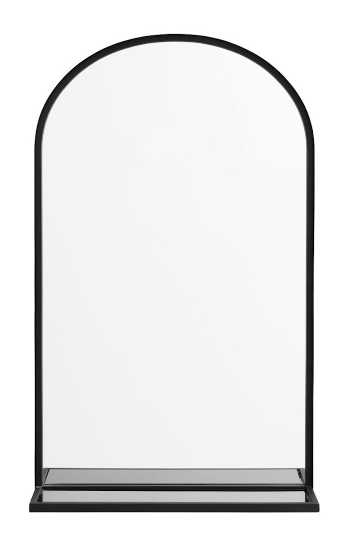 Spegel Iron med glashylla
