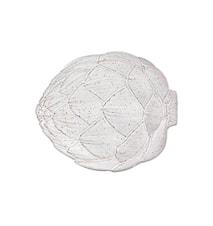 Assiette à dîner blanche 31,5 cm Artichoke
