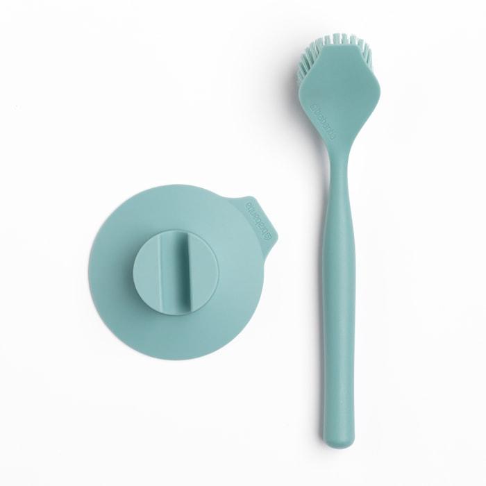 Oppvaskbørste med Sugekoppholder Mint