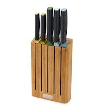 Elevate ™ Knivblokk med 5 stk. kniver