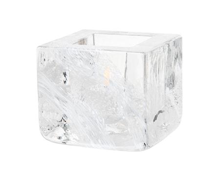 Brick Ljuslykta Vit Ø 8,5 cm
