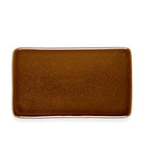 Kuverttall. 22x12,8cm amber