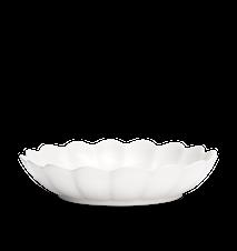 Østersskål Stor Hvit 31 cm