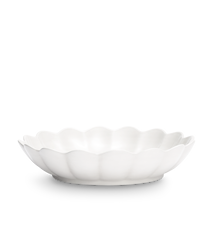 Ostronskål Stor Vit 31 cm