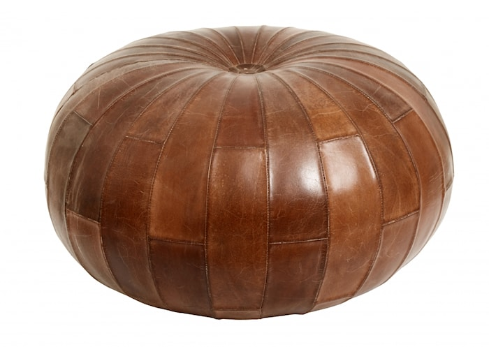 Siddepuf Leather Round