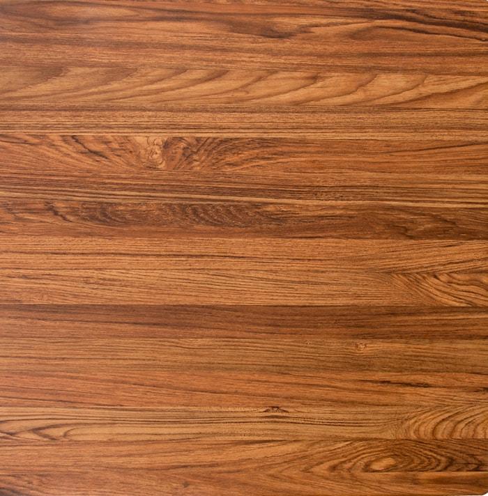 Bordplade 60x60cm, teak