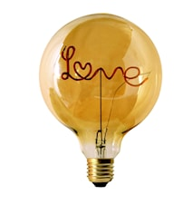 Words LED Filament Standing Love