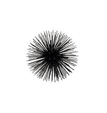 Stardust Deco Svart Ø18x9,5 cm