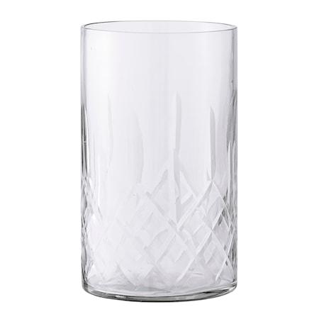 Lysholder Klar Glas 10x17 cm