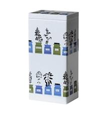 Persons krydderskap Kaffeboks Blå