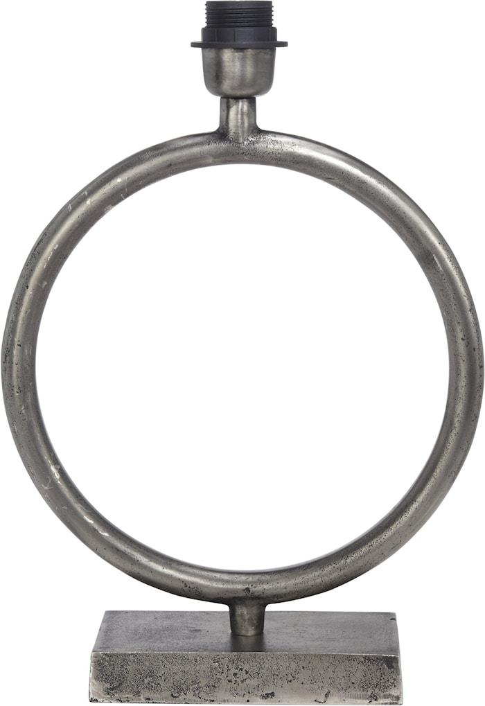Circle Lampefot Rå Sølv 43cm