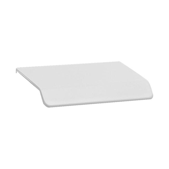 Håndtag Curve 4,5 cm mat hvid