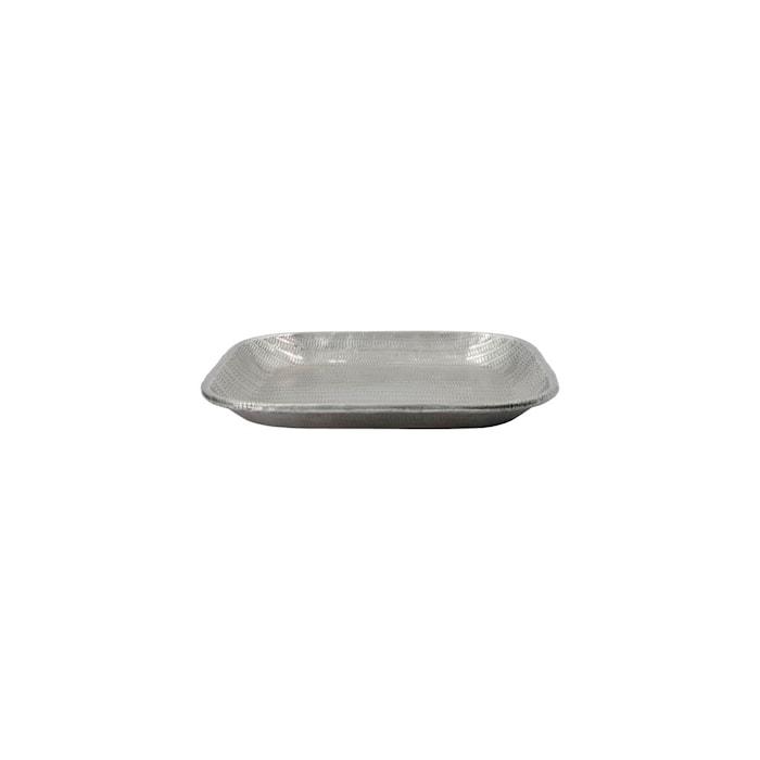 Bricka Malva Antique Silver 25,5x25,5 cm