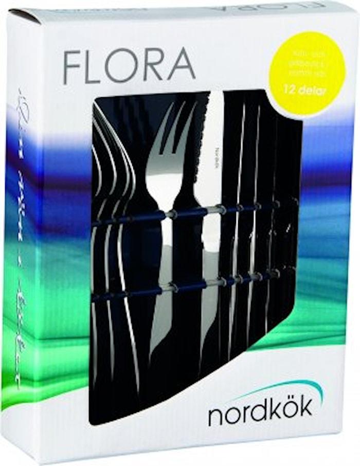 Flora kjøtt- & grillbestikk 12 deler