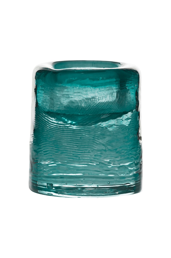 Ljuslykta Sarek 8cm Emerald