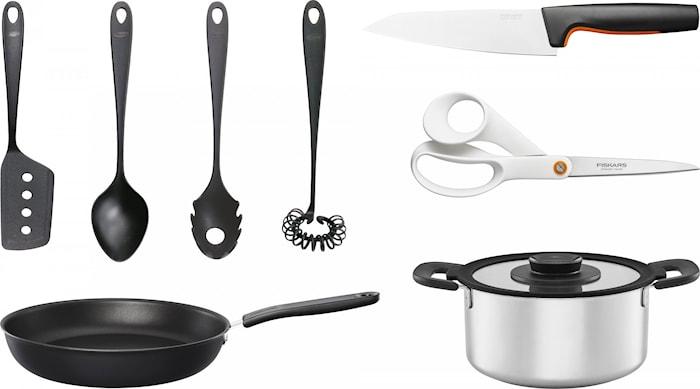 Fiskars Kit - FF keittiösetti 8 osaa