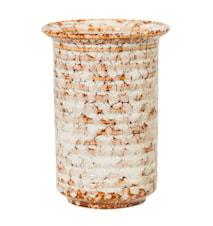 Vase Steinzeug Braun