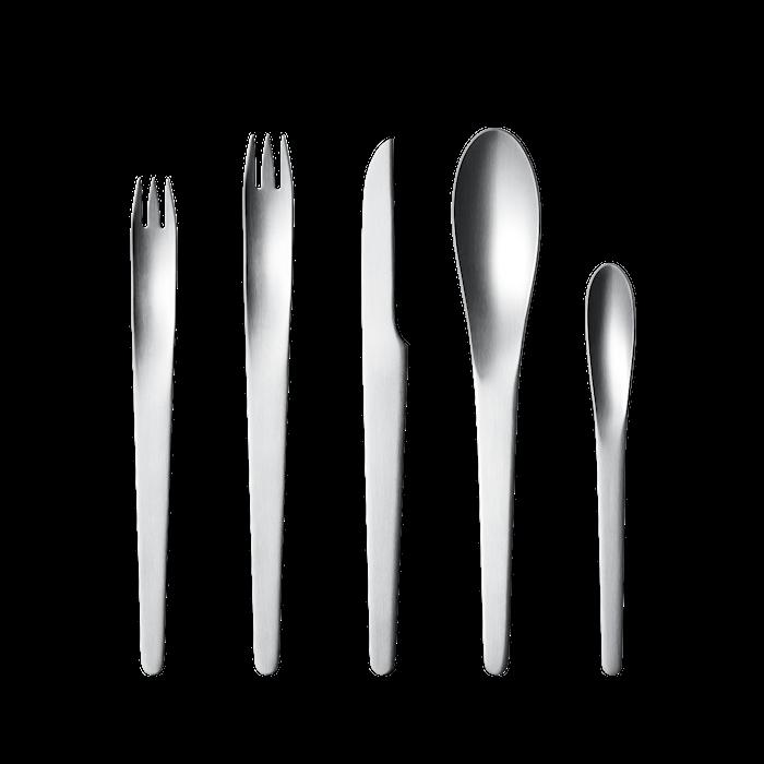 Arne Jacobsen Bestickset 5 delar Rostfritt Stål