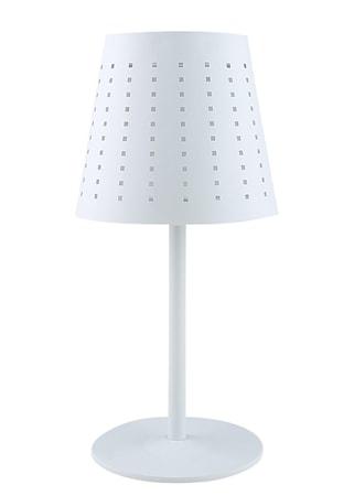 Alvar Utomhuslampa Sol/USB Vit 48cm