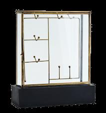 Jewellery box w/ wooden base