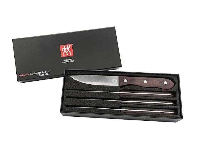 Twin Specials Grillknivar 4 st Presentlåda