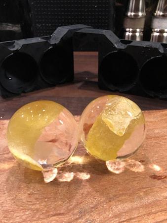Form för kristallklar is - 4 x Bollar