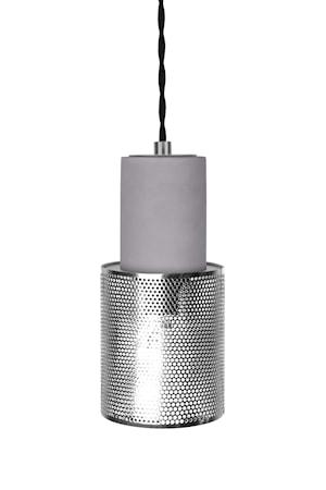 Rumble Mini Taklampe Krom