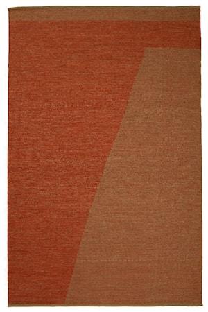 Una Matta Wool Rost/Beige 180x270 cm