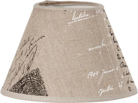 Royal Lampeskjerm Naturtekst 20 cm