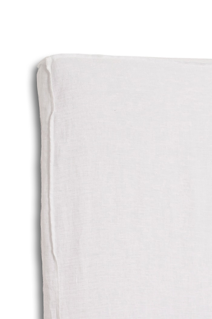 Sänggavelklädsel Mira Loose-fit white 160x140