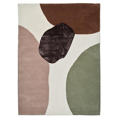 Topaz Matta Ivory/Green 250x350 cm