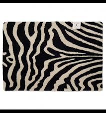 Dørmåtte Zebra Sort/Hvid 60x90 cm