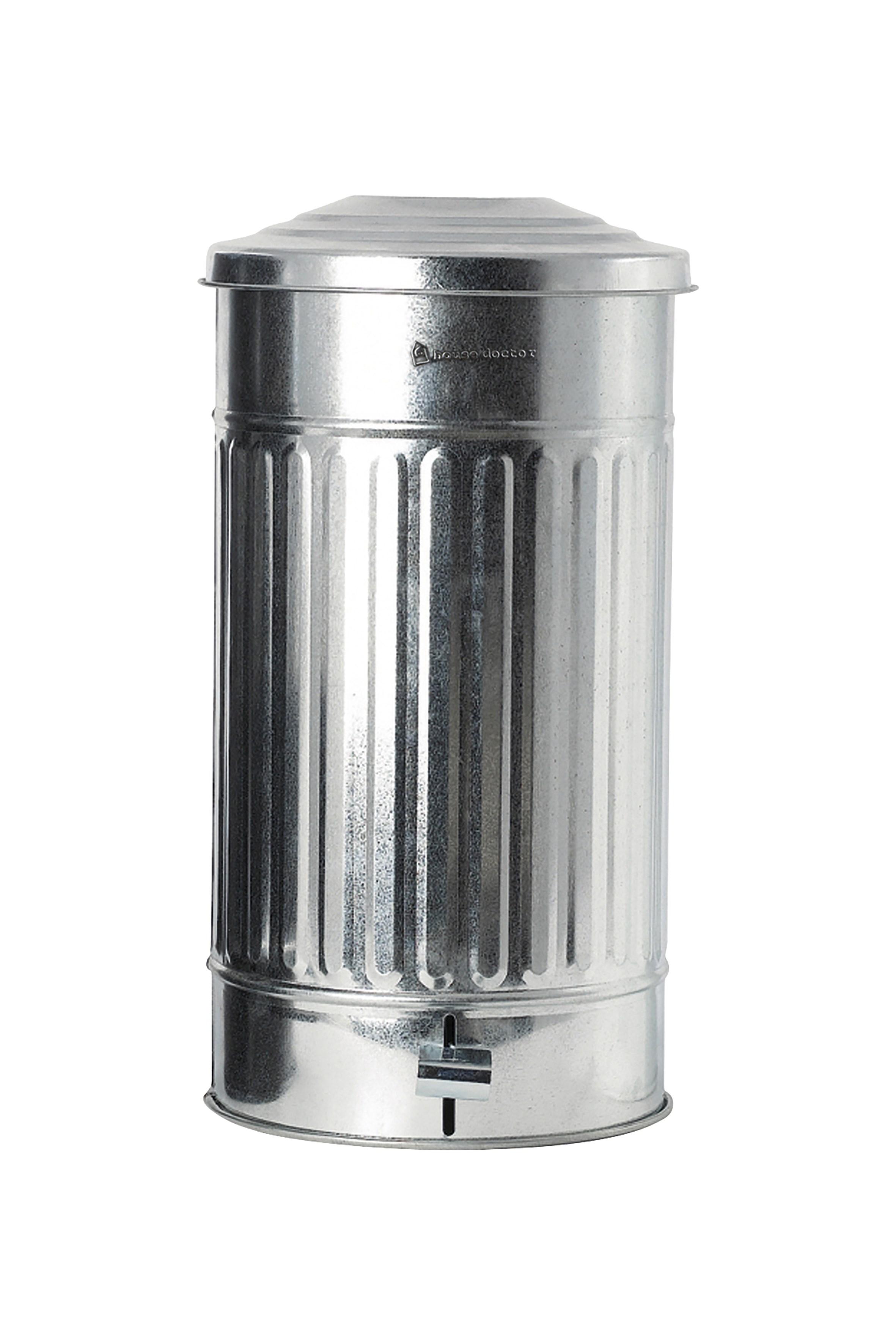 Soptunna Ø 255 cm 24 L – Silver