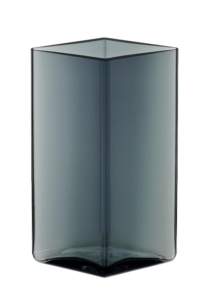 Ruutu vas 11,5x18cm Grå