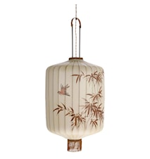 Traditionell Lykta Taklampa Large Cream
